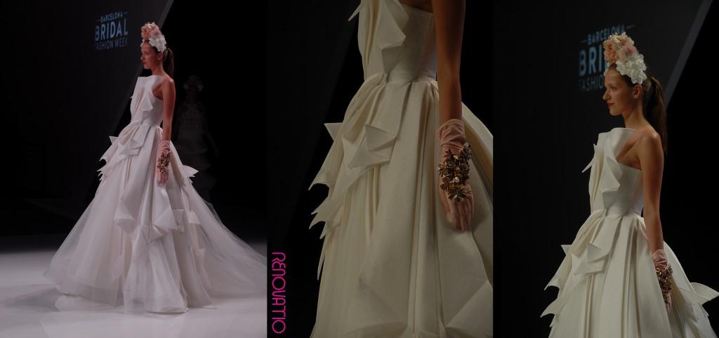 Barcelona Bridal Fashion Week 16 Collections 2017 Isabel Sanchís