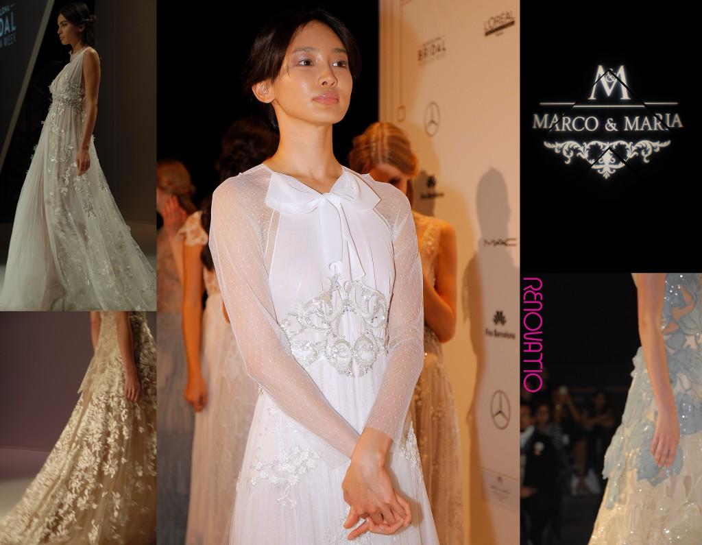 Barcelona Bridal Fashion Week 16 Collections 2017 Marco & Maria