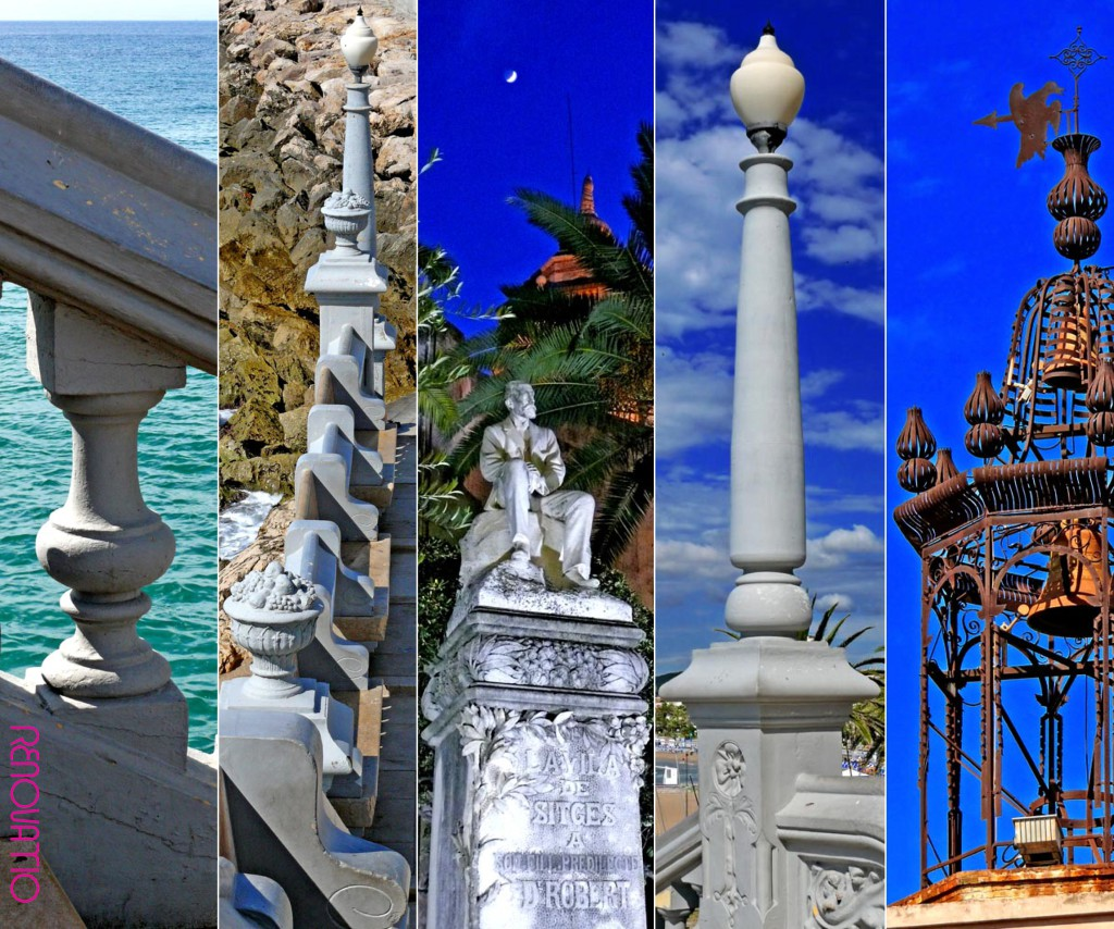 🇪🇸  Diversas imágenes icónicas de Sitges 🇺🇸  Some iconic images from Sitges