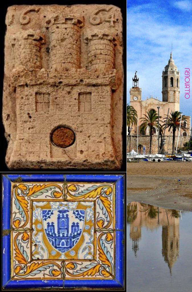 🇪🇸  Localidad de Sitges en la comarca del Garraf, que limita al sur con el Mar Mediterráneo 🇺🇸  Sitges area in Garraf region, that borders on the Mediterrenean Sea on the south
