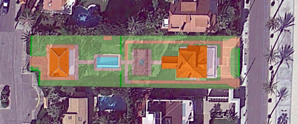 🇪🇸  Foto aérea de la parcela  🇺🇸  Aerial photo from the parcel