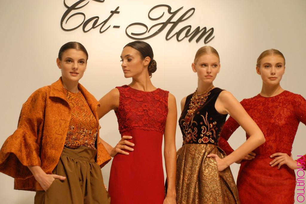 TOT-HOM COLECCIÓN O/I 16.17 Alta Costura, Prêt-à-porter, Línea A y Novias  TOT-HOM COLLECTION F/W 16.17 Haute Couture, Prêt-à-porter, Línea A & Bridal