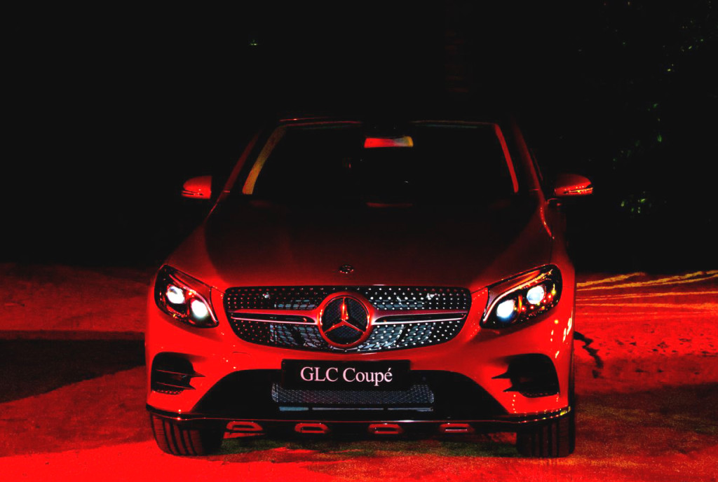 Mercedes-Benz GLC Coupé Concept  Photo Credit: Pericles Manolopoulos