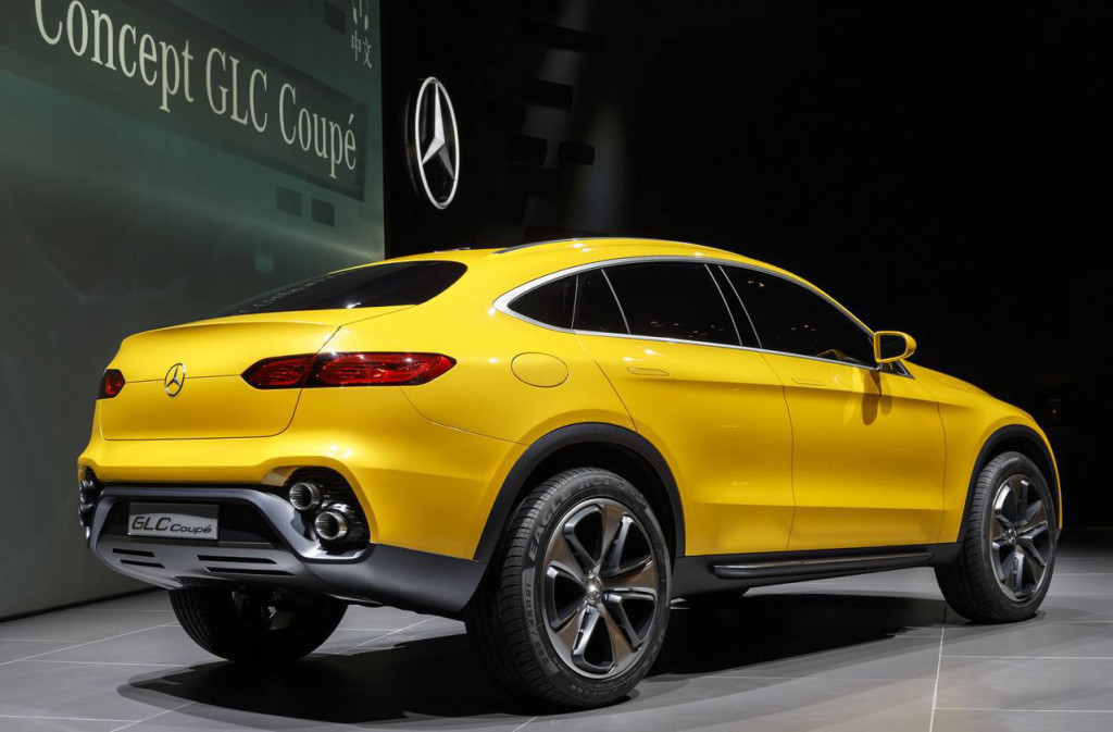 Mercedes-Benz GLC Coupé Concept  Photo Credit: Mercedes-Benz