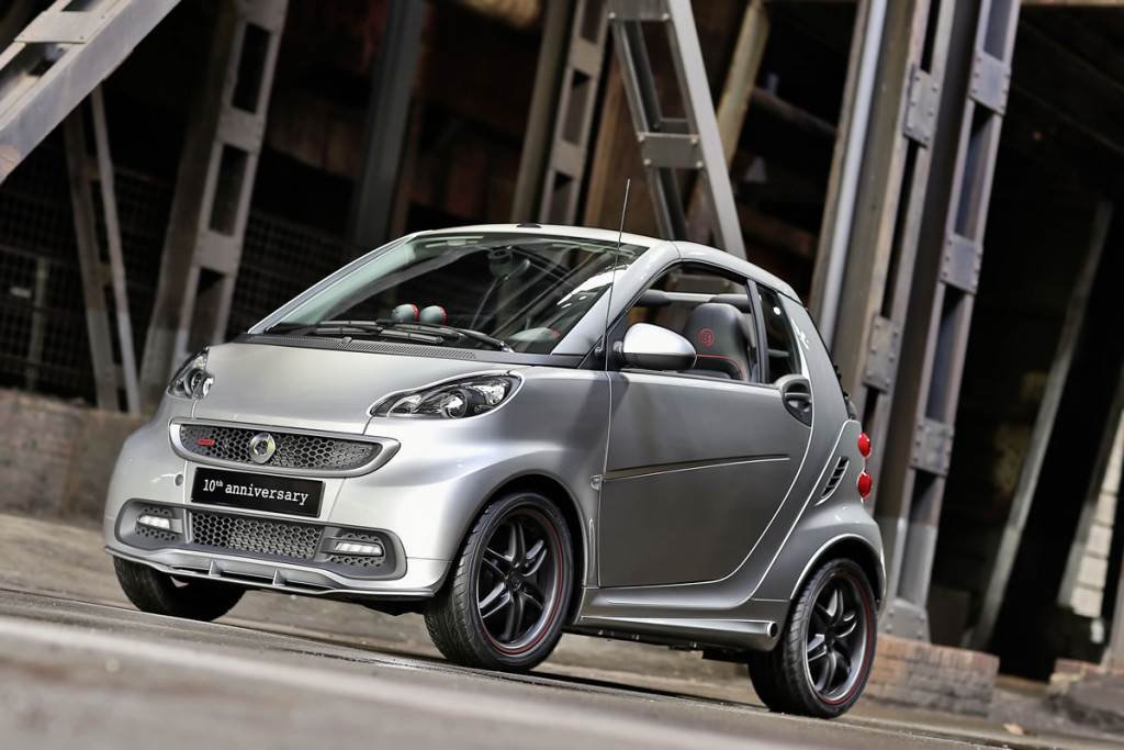 Smart Brabus for-two tailor made Photo Credit: Mercedes-Benz