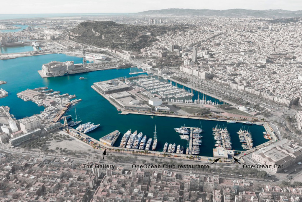 OneOcean Port Vell Aerial view on Salamanca Group Investments intervention Source: SCOB Arquitectes