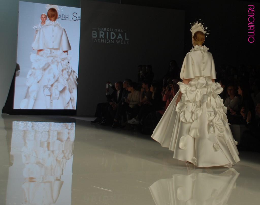 Barcelona Bridal Fashion Week 2017  Isabel Sanchís collection for 2018