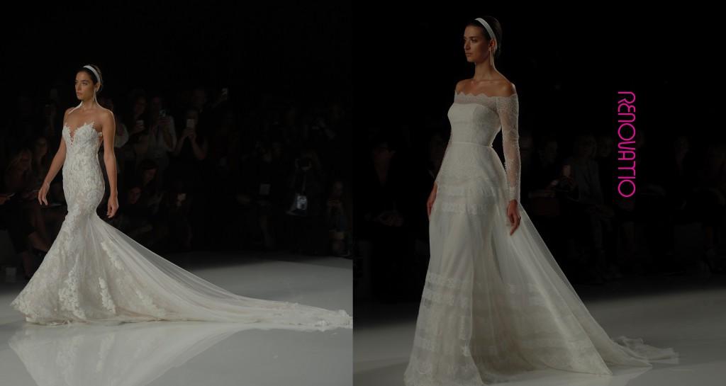 Barcelona Bridal Fashion Week 2017  Rosa Clará 2018